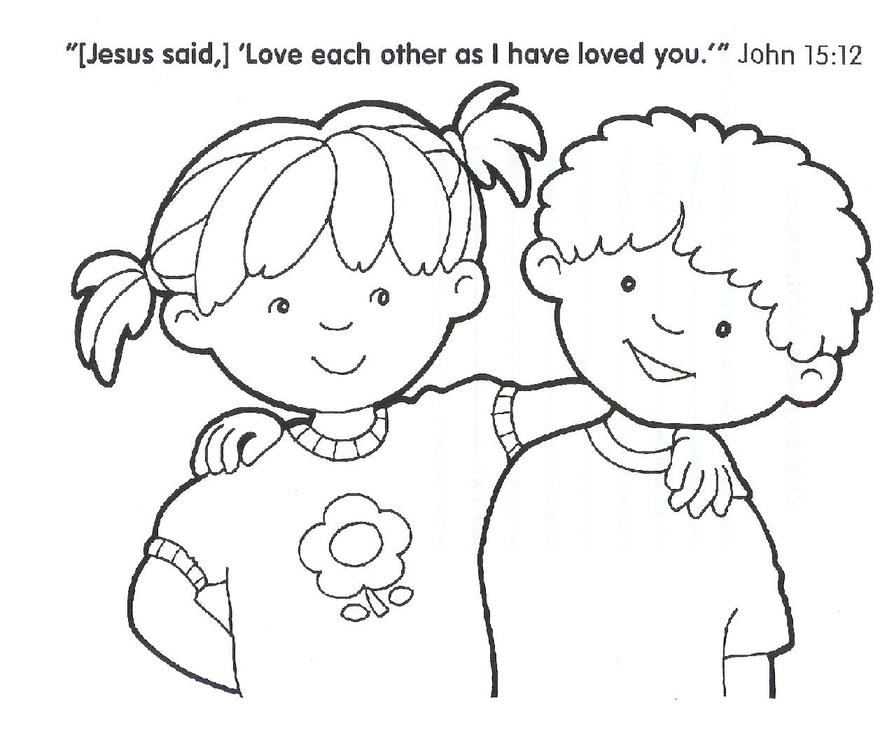 free printable christian coloring pages - photo#25